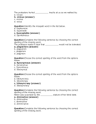 Odesk English Skill Test Answer 2014