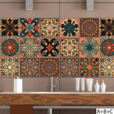 fliesenaufkleber für küche und bad 18 stück serria 10x10cm