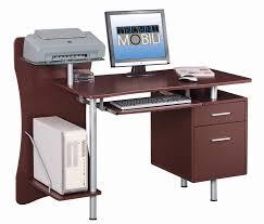 Computer Table At Walmart by Techni Mobili Super Storage Computer Desk Espresso Walmart Com