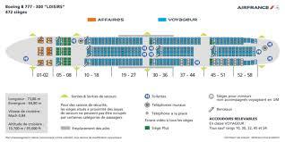 siege boeing 777 300er air appareil boeing 777 300er siège non plus sur la même rangée que