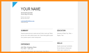 Google Templates Resume Goo Perfect Drive Template Image Gallery