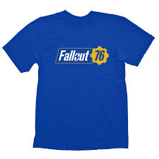 FALLOUT 76 OFFICIAL T-SHIRT BETHESDA COLOR BLUE - MAGLIA MERCHANDISING - NO  GAME Funny Free Shipping Unisex Tshirt Top Fallout 76 Trictennial Edition Bhesdanet Key Europe This Week In Games Bethesda Ships 76s Canvas Bags Review Almost Hell West Virginia Pcworld Like New Disc Rare Stolen From Redbox Edition Youtubers Beware Targets Creators Posting And Heres For 50 Kotaku Australia Buy Fallout Closed Beta Access Pc Cd Key Compare Prices 4 Ps4 Walmart You Can Claim 500 Atoms If You Bought Game For 60 Fo76 Details About Xbox One Backlash Could Lead To Classaction Lawsuit