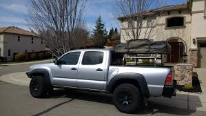100 Tacoma Truck Tent Hot Metal Fab Universal Over The Bed Rack Holds Any Rooftop Tent