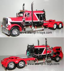 100 Toy Peterbilt Trucks DCP 4202cab 379 Tractor Stampns