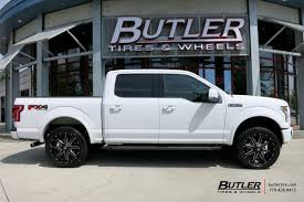 Ford F150 With 22in Fuel Maverick Wheels Exclusively From Butler ... Fuel D239 Cleaver 2pc Gloss Black Milled Custom Truck Wheels Rims Offroad Wheel Collection Off Road Regarding Car Ford F150 On 2piece Rampage D247 California My Lifted Trucks Ideas Pinatubo By Rhino Utv Hostage Iii D568 Matte Anthracite With 18in Trophy Exclusively From Butler Tires
