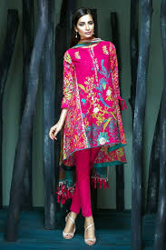 Buy Khaadi Lawn Collection Unstitched 3 Piece Suit In Pink From LawnCollectionpk Get Your Outfit At Doorstep Anywhere Pakistan
