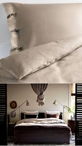 Bekkestua Headboard Attach To Wall by Linen Bedding Like The Linblomma Duvet Set Is A Great Choice For