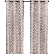 Geometric Pattern Grommet Curtains by 20