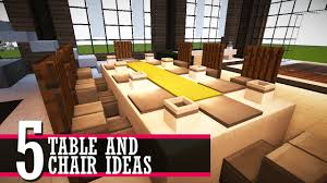 5 Table And Chair Design Ideas (Minecraft Furniture Tutorial) West Starter 4 Seater Ding Set Kruzo Florence Extendable Folding Table With Chairs Fniture World Sheesham Wooden 3 1 Bench Home Room Honey Finish 20 Chair Pictures Download Free Images On Unsplash Delta Children Mickey Mouse Childs And Julian Coffe Steel 2x4 Full 9 Steps Hilltop Garden Centre Coventry Specialists Glamorous Small Tables For 2 White Customized Carousell Table Glass Wooden Ding Set 6 Online Street