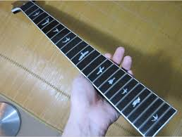 2018 24 Frets Maple Electric Guitar Neck Rosewood Fingerboard Inlay Bird Parts Musical Instruments Accessories From Vinlan 10553
