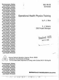 Spectra Contract Flooring Dalton Ga by Operational Health Physics Training By Hj Moe Isotope Atoms