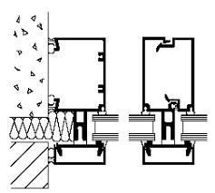 split mullion unitized thermal break wall systems 1602 curtain