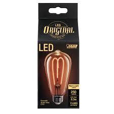 250 lumen led vintage st19 feit electric