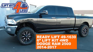 ReadyLift 49-1630-K | 2014-17 Dodge Ram 2500 4WD | 6 Inch Lift Kit ... Trueedge Factory Painted Street Fender Flares For 0009 Dodge Ram 2000 2500 Regular Cab Pickup Long Bed 2wd Cummins Turbo The 12 Quickest Pickup Trucks Motor Trend Has Ever Tested 1500 Questions Torque Convter Cargurus Suspension Lift Kits 1012 Inch System 2013 Details Hd Wallpaper 49 White Truck Tshirt Heavy Duty Mens Tee Shirt 1949 With A 6bt Diesel Engine Swap Depot 1995 Dodge Ram Salvage Title Spin Tires For 092017 Quad Cab 5 Side Step Nerf Bars Running 2010 3500hd Crew Laramie 44 Deleted Tuned Envision Auto