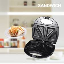 fa軋des meubles cuisine sokany stainless steel sandwich maker toaster removable non stick