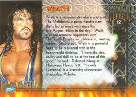 Halloween Havoc 1999 Card by 1999 Topps Wcw Nwo Nitro Wrestling Gallery The Trading Card