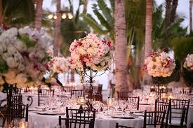 Tall Floral Centerpieces For Beach Weddings Elena Damy Design 800