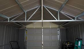 Arrow Metal Shed Floor Kit by The High Gable Roof With Reinforced Steel Trusses Of The Arrow
