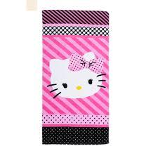 Pink Bathroom Sets Walmart by Hello Kitty Dots J U0027adore Bath Towel Collection Walmart Com