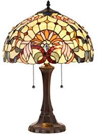 Tiffany Style Glass Torchiere Floor Lamp by Chloe Lighting Ch33353vr14 Tf1