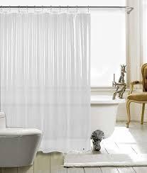 duschvorhänge textil bad vorhang aus polyester anti schimmel wasserdichter waschbar stoff badezimmer vorhang 183 183cm transparent