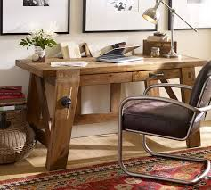Bench Style Office Desks From Pottery Barn Small And Large Hendrix