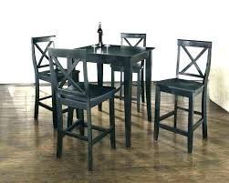 Pub Style Table Bistro And Chairs Amazing Small Square Intended For Tables Designs