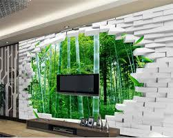 3d wand papier beibehang große eigene 3d tapete ziegel wand bambus wand tv wand dekorative malerei tapeten für wohnzimmer