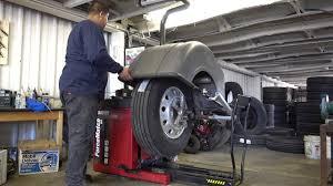 100 Truck Tire Service Near Me Wheel Balancing Lopez YouTube