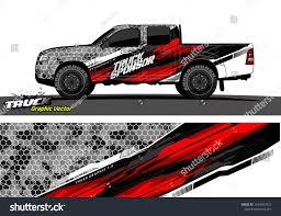 100 Truck Wrap Design Vector Abstract Background Stock Vector Royalty