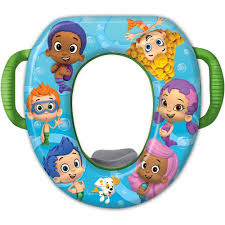 nickelodeon bubble guppies soft potty seat walmart com