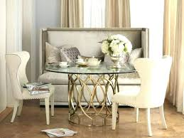 High Back Bench Dining Set In Room With Luxury