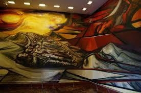 David Alfaro Siqueiros Murales Bellas Artes by El Abrumador Arte De David Alfaro Siqueiros El Financiero