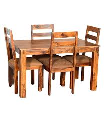 Sheesham Wood Dining Table Buy With Six Chairs Online Room Furniture