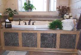 Rustic Bathtub Tile Surround by Make Your House Look Like A Cabin Inside Cabin Decor Western Decor