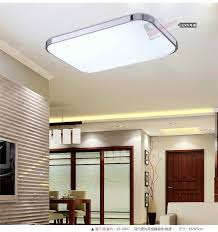 modern kitchen led ceiling light surface mounted l pertaining