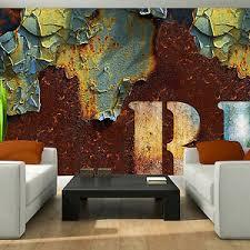 details zu vlies wandbild tapeten fototapete rost orange bild wand muster foto 3fx2705ve