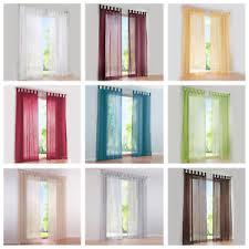 joyswahl deko gardinen stores weiß vorhänge wohnzimmer