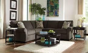 100 2 Sofa Living Room BROYHILL ETHAN PIECE HANDMADE ROLL ARM SECTIONAL