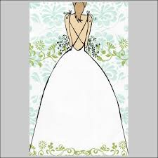 Grace By Bella Ink Bridal Shower Invitations Blank Stock