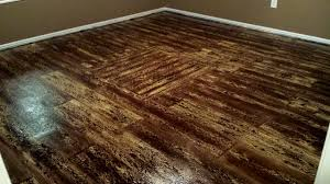 how to finish Painted plywood floors of Painted Plywood