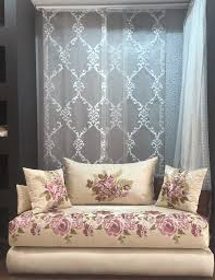 tissu salon marocain nouveau catalogue 2017 décor salon marocain