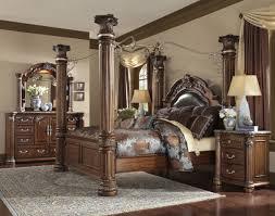 Michael Amini Aico Monte Carlo II King Canopy Bed