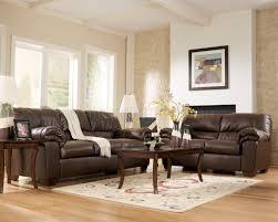 decorate living room brown leather sofa centerfieldbar com