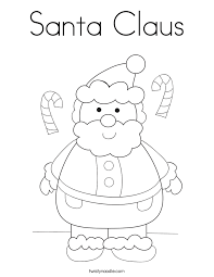Free Printable Coloring Santa Claus Page 98 With Additional Site
