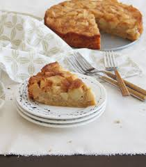 Autumn Kissed Apple Cake