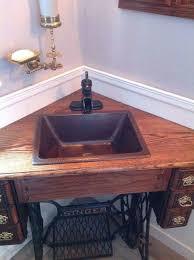Vanity Furniture For Bathroom by Best 25 Corner Sink Bathroom Ideas On Pinterest Corner Bathroom