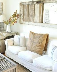 Wall Decor Behind Couch Remnants Wooden Mirror Above