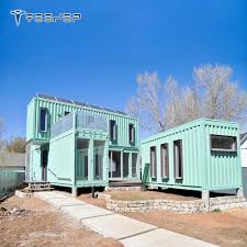 100 Container Box Houses Customized China Prefabricated Homes Movable With Conex