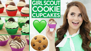 Nerdy Nummies Halloween Cupcakes by Diy Scout Cookie Cupcakes Youtube
